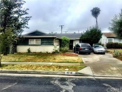 4915 N Willow Avenue, Covina, CA 91724 - MLS#: CV18183206
