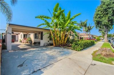 436 E 59th Street, Long Beach, CA 90805 - MLS#: CV18194110
