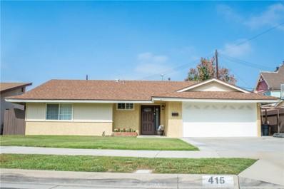 415 S Fairvale Avenue, Azusa, CA 91702 - MLS#: CV18203128