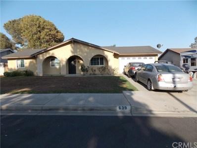 639 S Teakwood Avenue, Rialto, CA 92376 - MLS#: CV18203485
