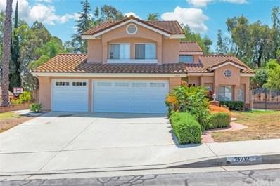 2802 Whippoorwill Drive, Rowland Heights, CA 91748 - MLS#: CV18204247
