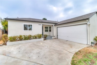 848 Hollowell Street, Ontario, CA 91762 - MLS#: CV18208623