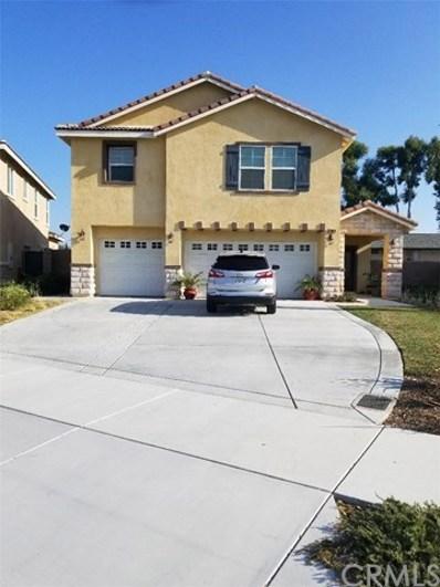 16625 Atlas Lane, Fontana, CA 92335 - MLS#: CV18211530