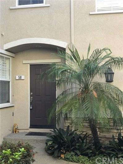 7353 Ellena W UNIT 58, Rancho Cucamonga, CA 91730 - MLS#: CV18213247