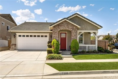 7588 Iron Horse Place, Rancho Cucamonga, CA 91739 - MLS#: CV18221232