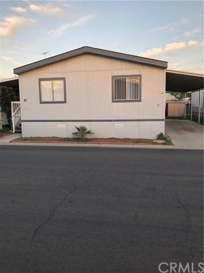2151 W Rialto Avenue UNIT 31, San Bernardino, CA 92410 - MLS#: CV18222719