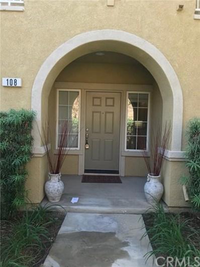 11450 Church Street UNIT 108, Rancho Cucamonga, CA 91730 - MLS#: CV18232341