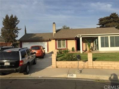 795 N. Wisteria Ave, Rialto, CA 92376 - MLS#: CV18239604
