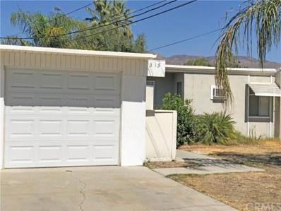 315 Santo Drive, San Jacinto, CA 92583 - MLS#: CV18240380