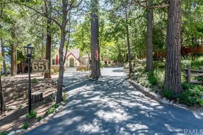 651 Forest Shade Road A & B, Crestline, CA 92325 - MLS#: CV18244231