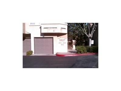 1027 Vista Del Cerro Drive UNIT 102, Corona, CA 92879 - MLS#: CV18245287