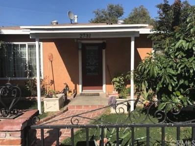 2731 Ganahl Street, East Los Angeles, CA 90033 - MLS#: CV18248348