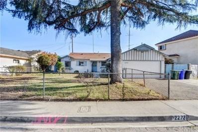 2272 Kellogg Park Drive, Pomona, CA 91768 - MLS#: CV18248673