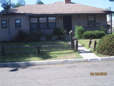 14403 Cabell Avenue, Bellflower, CA 90706 - MLS#: CV18250936
