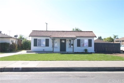 858 E 4th Street, Ontario, CA 91764 - MLS#: CV18252446