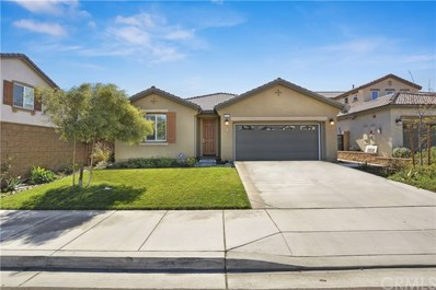 15547 RED PEPPER Place, Fontana, CA 92336 - MLS#: CV18253963