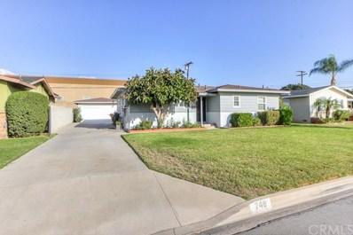 748 Brightview Drive, Glendora, CA 91740 - MLS#: CV18258204
