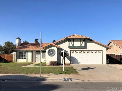 24720 Clear Water Drive, Moreno Valley, CA 92551 - MLS#: CV18266688