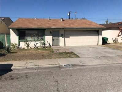 4003 Stichman Avenue, Baldwin Park, CA 91706 - MLS#: CV18273228