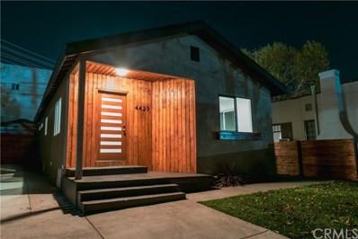4427 Alumni Avenue, Los Angeles, CA 90041 - MLS#: CV18277927