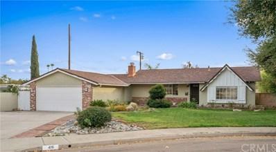 416 Fordham Place, Claremont, CA 91711 - MLS#: CV18279885