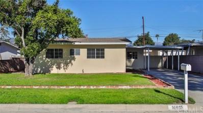 16815 E Benbow Street, Covina, CA 91722 - MLS#: CV18280487