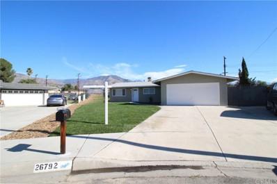 26792 Union Street, Highland, CA 92346 - MLS#: CV18284293