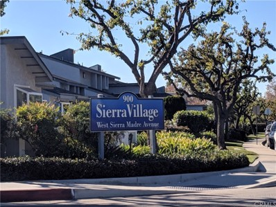 900 W Sierra Madre Avenue UNIT 62, Azusa, CA 91702 - MLS#: CV18295956