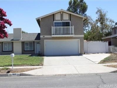 869 W Valencia Street, Rialto, CA 92376 - MLS#: CV19003762