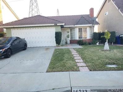 14213 Woodland Drive, Fontana, CA 92337 - MLS#: CV19006973