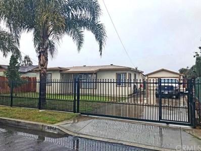 16044 Rosemary Drive, Fontana, CA 92335 - MLS#: CV19012060