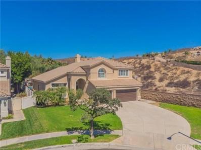 2391 Moonridge Circle, Corona, CA 92879 - MLS#: CV19019374