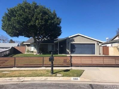 1465 Wedgewood Avenue, Upland, CA 91786 - MLS#: CV19042119