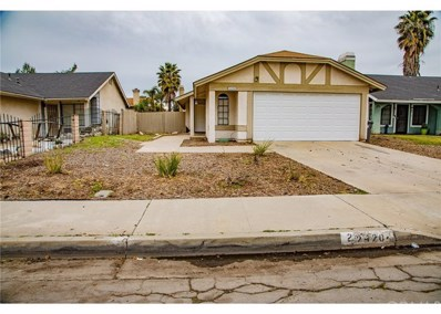 24204 Sun Valley Road, Moreno Valley, CA 92553 - MLS#: CV19057255