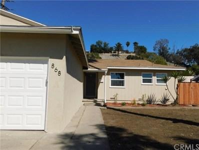 868 Ashcomb Drive, La Puente, CA 91744 - MLS#: CV19058613
