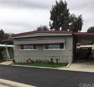 8651 Foothill Boulevard UNIT 49, Rancho Cucamonga, CA 91730 - MLS#: CV19059914