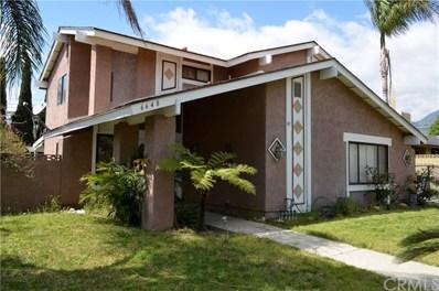 6648 Citrine Street, Rancho Cucamonga, CA 91701 - MLS#: CV19072209