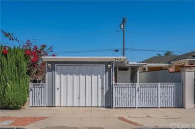 345 E Peace Street, Long Beach, CA 90805 - MLS#: CV19081847