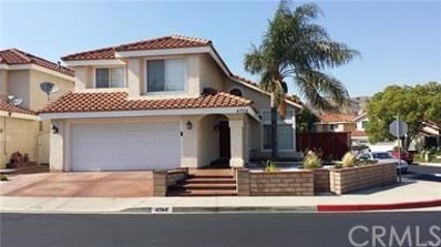 4704 Feather River Road, Corona, CA 92880 - MLS#: CV19097377