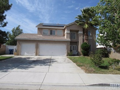 5611 Kingman Drive, Palmdale, CA 93552 - MLS#: CV19126981