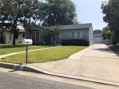 1700 S Mayflower Avenue, Arcadia, CA 91006 - MLS#: CV19162562