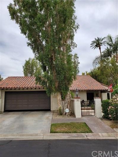 43 Calle Lista, Rancho Mirage, CA 92270 - MLS#: CV19191868