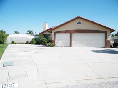15197 Cambria Street, Fontana, CA 92335 - MLS#: CV19220350