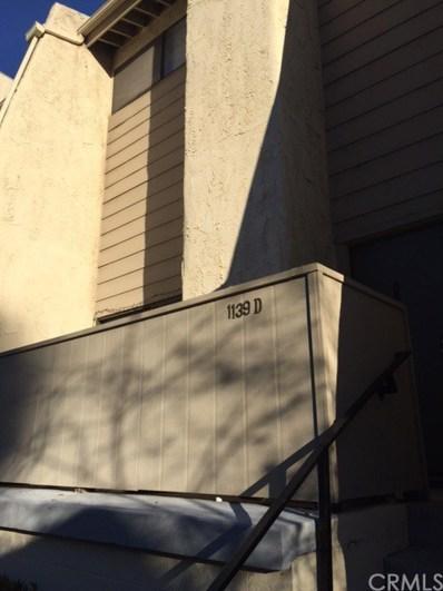 1139 W Badillo Street UNIT D, Covina, CA 91722 - MLS#: CV19225070