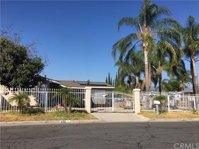 432 N Sage Avenue, Rialto, CA 92376 - MLS#: CV19226895