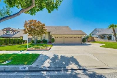 920 W 21st Street, Upland, CA 91784 - MLS#: CV19235580