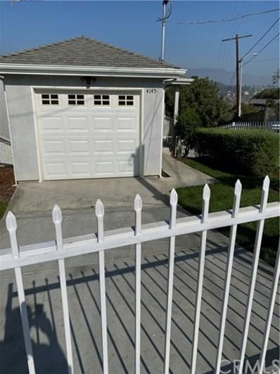 4145 Raynol Street, Los Angeles, CA 90032 - MLS#: CV19271612