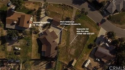 277 Mount Shasta Drive, Norco, CA 92860 - MLS#: CV20026145