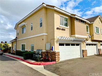 4815 Aquamarine Way, Cypress, CA 90630 - MLS#: CV20045567