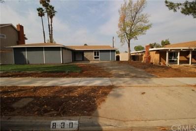 830 Kentwood Drive, Riverside, CA 92507 - MLS#: CV20195027